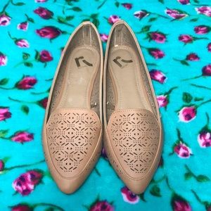 Report Brand Pointed Flats Brown NEW 🍂